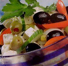 Culinária da Grécia – Salada Grega