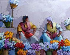 lebriz.com Mexico Art, Turkish Art, Impressionist Paintings, Small Paintings, Figure Painting, Artist Art, Figurative Art, Art Day, Lovers Art