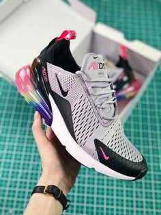 Nike Air Max 270 Betrue After Half-palm As Jogging Shoes White Black ... 06e93b6dc