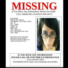 Orlando Anime Club Member Lisa Smith Reported Missing