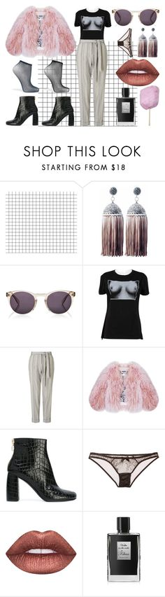 """""""where do you think they'll hide your bones?"""" by onlyethical ❤ liked on Polyvore featuring Ricardo Rodriguez, Vivienne Westwood, People Tree, Florence Bridge, STELLA McCARTNEY, L'Agent By Agent Provocateur, Lime Crime, Kilian and Wolford"""