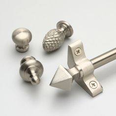 Inspiration 48 Stair Rod Set With Round Finials