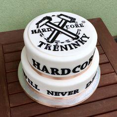 Hardcore training cake Birthday Cake, Training, Desserts, Food, Crates, Tailgate Desserts, Deserts, Birthday Cakes, Essen