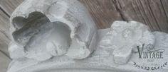 Is geschilderd met krijtverf: Vintage Paint Jeanne d'Arc Living.