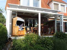 Wintergartenmarkise W450: Die optimale Lösung für Wintergärten mit ausgefallenen Dachformen.