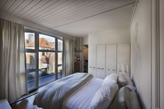 Bedroom of home in Bruges,Belgium. Photo:Jack Fistick for the NY Times