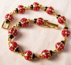 Joan Rivers Classics Collection Red Enamel by GretelsTreasures, $35.00