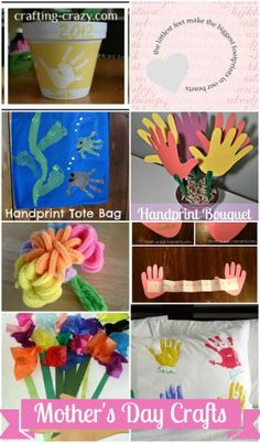 Easy Mother's Day Crafts for toddlers and kids