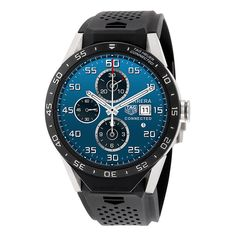 TAG HEUER CONNECTED SAR8A80.FT6045 Black 46mm Smart Watch Fast Ship! Brand New! #TAGHeuer #LuxurySportStyles