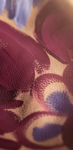 Rich and saturated shades - live on the Burberry A/W14 runway this Monday