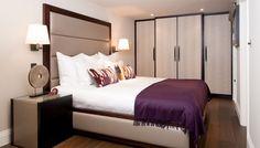Bedroom with headboard