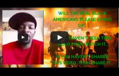 Charles R Patrick - this guy's video is for all people not just black people. Take responsibility for your actions. The world would be a better place if more people did. Be the change you want to see in the world. One person can make a difference!