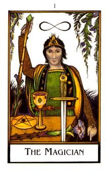 August 25 Tarot Card: The Magician (New Palladini deck) You're good at what you do, and you have the power to begin something really amazing now. Put your focus on creativity, action, and success