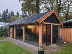 Backyard Pavilion, Backyard Studio, Patio Gazebo, Backyard Sheds, Backyard Patio, Backyard Landscaping, Pergola Designs, Carport Designs, Tiny House Cabin