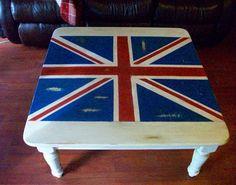 Union jack coffee table.