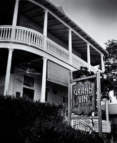Grand Vin on Duval Street   Fuji GF670 (film)   #jhunterphoto