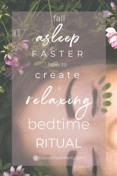 Do you have difficultly to falling asleep, or stay asleep? Create a relaxing bedtime routine that will train your body to sleep. Why Cant I Sleep, Sleep Inspiration, Essential Oils For Depression, Sleep Rituals, Affirmations For Anxiety, Insomnia Cures, Natural Cures, Natural Treatments, Transform Your Life