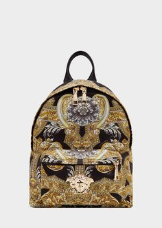 3f01d45fe93f Versace Barocco Istante Nylon Backpack for Women