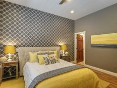 Grey Interiors in Bedrooms - Interior Design and Decor   Ideas   PaperToStone