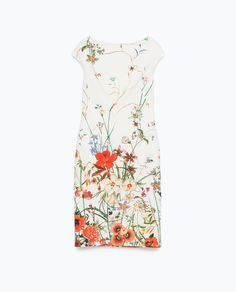 ZARA - WOMAN - FLORAL PRINTED TUBE DRESS