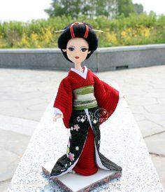 小天狼星团队原创钩针毛线玩偶艺妓日本姑娘图解教程材料包包邮-淘宝网全球站