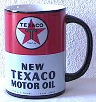 Texaco Motor Oil  ** Reminds me of Frank Fritz from American Pickers **