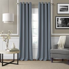 Elrene Home Fashions Essex Window Curtain Panel & Reviews | Wayfair