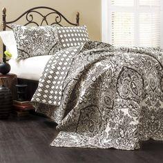 Lush Decor Aubree 3-Piece Quilt Set, King, Charcoal Lush Decor http://www.amazon.com/dp/B00KATFO16/ref=cm_sw_r_pi_dp_v6fnub159YCAY