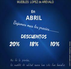 Los mejores precios en muebles. #muebles #mueblesdesalon #apilables #sofas #muebles_madrid #muebles_madera #muebles_apilables www.muebles-arevalo.com