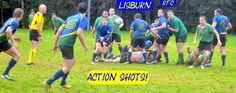 Lisburn Rugby Club II XV On The Charge!!!!!!!!!!!!!!!!!!!!!!!!!!! 250+ Action Shots LIVE HERE on WWW.INTOUCHRUGBY.COM