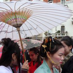 """Capodanno Cinese 2015. La principessa """"Fiore di glicine"""" foto di Anna Goffi"""