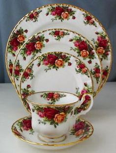 Old Country Roses - it has always been my dream to have this set of beautiful china.  i just love the idea of high tea and having tea and crumpets and yum!