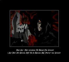 Alucard From Hellsing Ultimate | Hellsing Ultimate Abridged by knuckles22