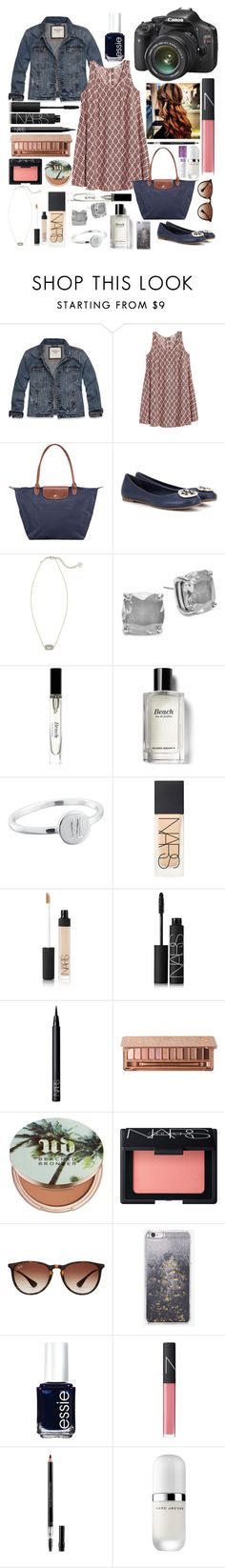 """""""Family Pictures #mattisfallcontest"""" by bowhunter1498702 ❤ liked on Polyvore featuring Abercrombie & Fitch, H&M, Longchamp, Tory Burch, Kendra Scott, Kate Spade, Bobbi Brown Cosmetics, NARS Cosmetics, Urban Decay and Ray-Ban"""