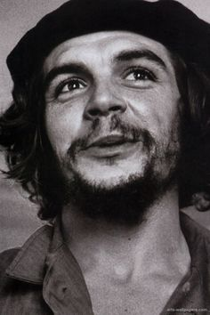 "Ernesto ""Che"" Guevara (May 14, 1928 – October 9, 1967), commonly known as el Che or simply Che, was an Argentine Marxist revolutionary, physician, author, guerrilla leader, diplomat, and military theorist. A major figure of the Cuban Revolution, his stylized visage has become a ubiquitous countercultural symbol of rebellion and global insignia within popular culture. ""Be realistic, demand the impossible!"""