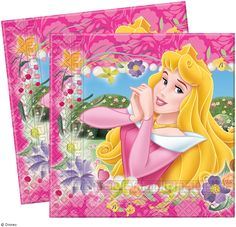 TOVAGLIOLI FESTA PRINCESS JOURNEY 33X33CM #festa #principesse #princess #party