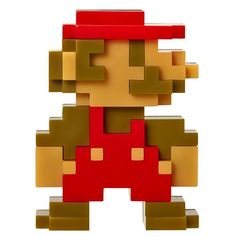 Nintendo Mario Figure 8-bit