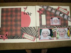 close to my heart Roxie layout