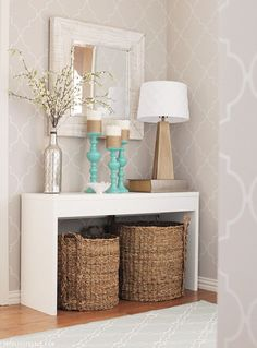 Entryway Makeover   The Blissful Bee http://theblissfulbee.porch.com/entryway-makeover/?utm_source=porch&utm_medium=outbrain-ad&utm_campaign=porch-gold