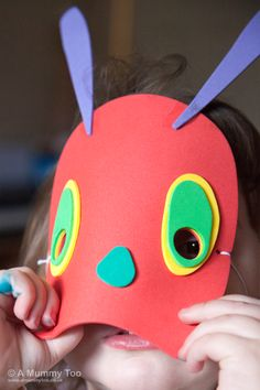 The Very Hungry Caterpillar Make and Play Mask (review)