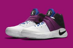 get cheap be9f3 35171 2018 Fashion Nike Kyrie 2018 Newest Nike Kyrie 2 Kyrache Huarache Black Bold  Berry White 819583 104