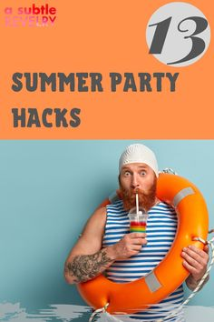 Sharing with you summer party hacks you will surely enjoy! Tis' the season for BBQs and outdoor summer fun. We often have friends over last minute in the summertime. These simple party hacks will keep your summer party, going off without a hitch. And they all can be done in 5 minutes or less. Check this pin now! #summerparty #summerpartyhacks #summer #partyhacks Summer Parties, Summer Fun, Summer Time, Party Hacks, Tis The Season, Best Part Of Me, Friends, Simple, Check