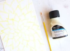 Watercolors for Beginners 5 - Frame Worthy Art - Lines Across