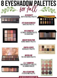 These 8 budget-friendly eyeshadow palettes for fall will have you on-trend for the season without breaking the bank. See which ones you need to complete your collection! | Slashed Beauty