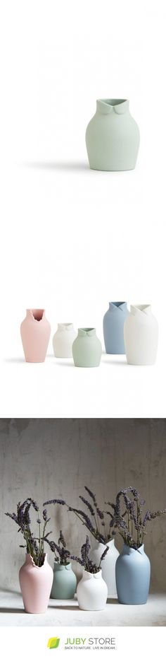 Nendo Dress Up Vase - Small Green - Juby Store