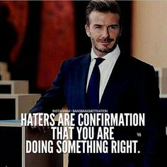 Haters are the reason behind your success. They will let you know that you are at right path in your life. Follow one of my favourite page @life_playground #bangbangmotivation by bangbangmotivation