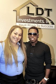 Diana Lopez in Diana Lopez, Tiny Lister and Bobby V. at LDT Investments, Inc. Office