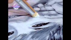 Rostro a partir de grisalla y veladura   Liliana Ziliotto en Bienvendias Tv Liliana, Tv, Videos, Youtube, Grisaille, Paintings, Learn To Draw, Wood, Tvs