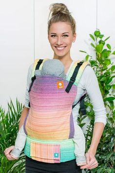 Meeyoo Louise Light Yellow Weft TULA BABY CARRIER