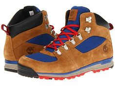 Rugged: New hiking boots... straight out of The Eiger Sanction